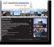 RRRR laver markedsføring for Café Hovedtelegrafen i det indre København