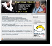 RRRR laver markedsføring for Abstinens-teamet